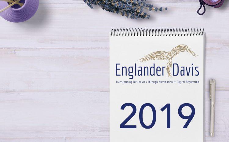 Englander Davis 2019 Calendar